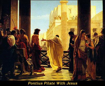 Pontius Pilate With Jesus