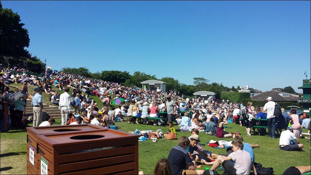 2015 Wimbledon - Henman Hill