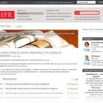 Integrated CIPR news on your desktop – shame about mobile