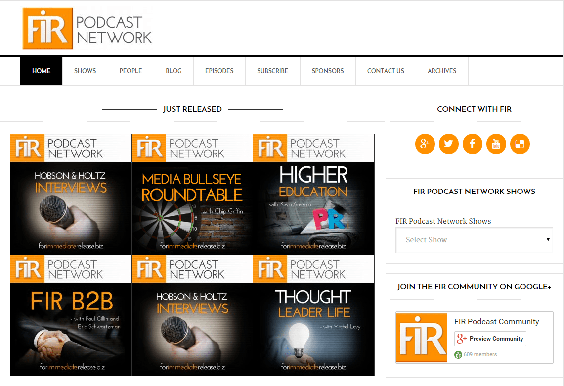 FIR Podcast Network