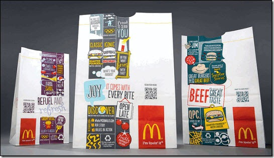 McDonald's new global packaging