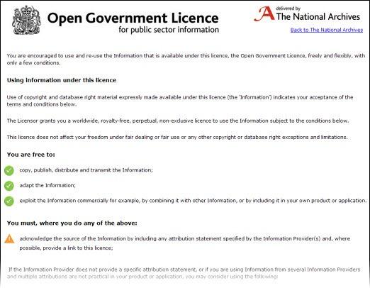 opengovlicence