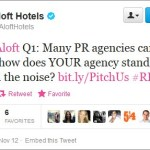 Taking the competitive PR pitch to Twitter