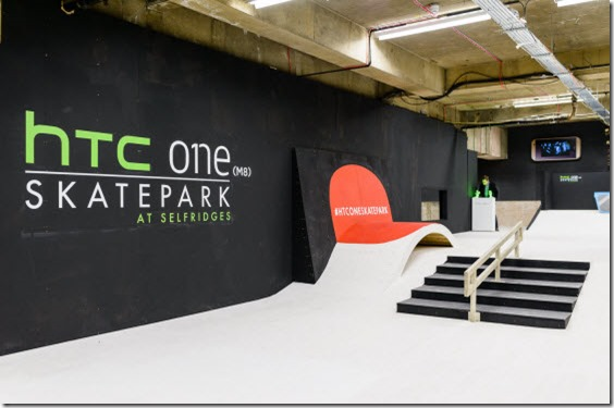 HTC One Skatepark