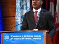 Min Richards at UNESCO 2 copy 2