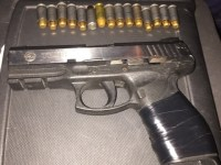 Taurus .40mm and rounds found Friday 20 November