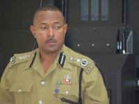 Commissioner of Police Mr. Ian M. Queeley
