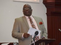 Prime Minister Harris updated the country on the National Heroes Park on Wednesday