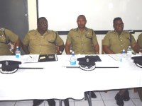 Commissioner Queeley and High Command at lecture 07 April copy 2