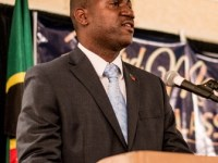 SKNIS Photo:  Deputy Prime Minister of St. Kitts and Nevis, Honourable Shawn Richards