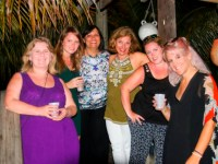 (From left to right) Kathryn Burrington of Travel With Kat, Chloe Gunning of Wanderlust Chloe, Zarina McCulloch of Rivers Communications, Suzanne Jones of Travel Bunny, and Laura Braithwaite of Little Travel Bee and Vicky Philpott of VickyFlipFlops.