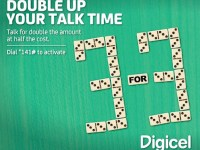 For every 3 minutes you talk on a local Digicel call, you get the next 3 minutes FREE copy