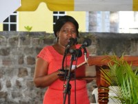 Director of the Community Development Department in the Nevis Island Administration Janette Maloney
