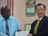 Mr. Calvin Edwards and Ambassador Chiou