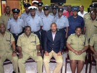 Newly confirmed Sergeants and newly selected Acting Sergeants and Acting Corporals with the High Command and other leadership after promotion ceremony on June 17