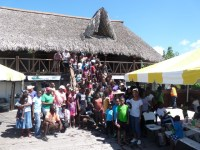 . A cross-section of Participants at the NHCS Coastal Clean Up held on Sept 24th pose for a pic