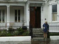 Across Charleston, South Carolina, pavements flooded, leaving people stranded