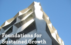 The foundations for sustained growth