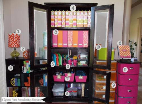 Medium Of Homeschool Room Ideas