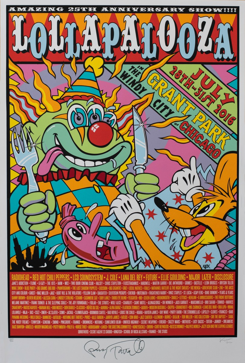 The Art of Lollapalooza