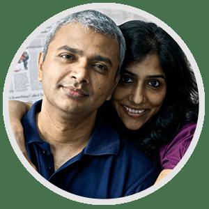 Anand Mahadevan & Ajitha Anand