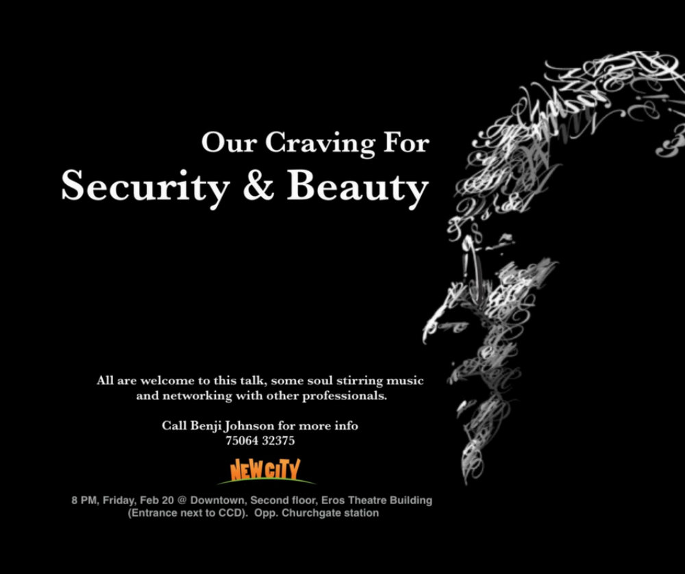 Our Craving for Security and Beauty Image