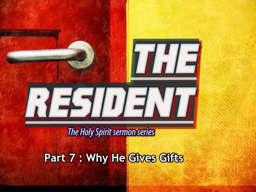 Why He gives Gifts?  Image