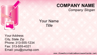 13 Free Printable Business Card Designs Images - Free ...