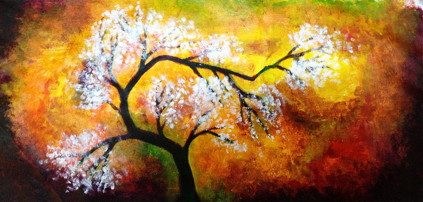 Fullsize Of Easy Acrylic Paintings