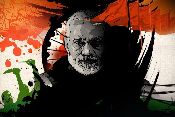 Hindutva and the counter-revolution in India : New Frame