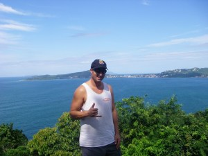 Florianopolis Hiking is very scenic, beautiful views!