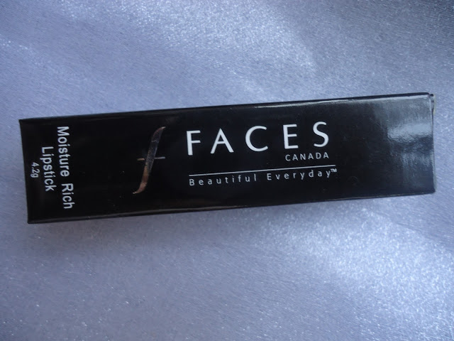 Faces Moisture Rich Lipstick 04 First Lady Review,Swatches