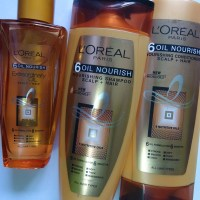 L'oreal Paris 6 Oil Nourish Oil, Shampoo and Conditioner Review