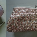 Haul-Pink Rhinestone Pumps,Champagne Clutch, Indian Fashion Blog