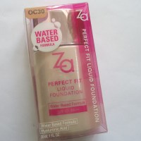 ZA Perfect Fit Liquid Foundation Review,Swatches,FOTD