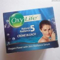 First Impression: OxyLife Natural Radiance Creme Bleach