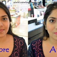 Givenchy Makeover: Soft Night Time Makeup Look