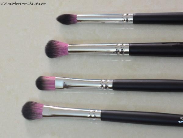 Sedona Lace Vortex Synthetic Professional Makeup Brush Set Review, Indian Makeup Blog