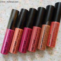 Miss Claire Soft Matte Lip Creams Review, Swatches