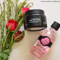 The Body Shop British Rose Shower Gel, Body Scrub Review