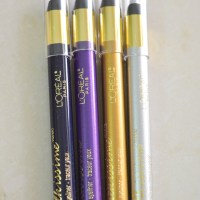 L'Oreal Paris Infallible Silkissime Eyeliners Review, Swatches