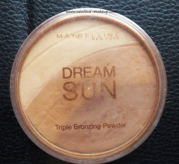 Maybelline Dream Sun Triple Bronzing Powder Review, Swatches