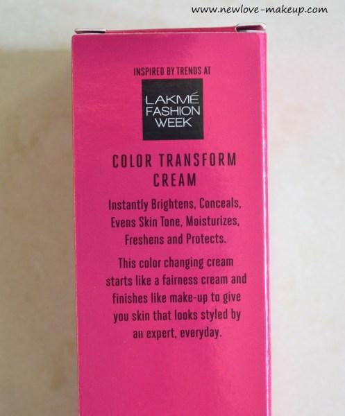 Lakme 9 to 5 CC Color Transform Cream Beige, Bronze Review & Demo