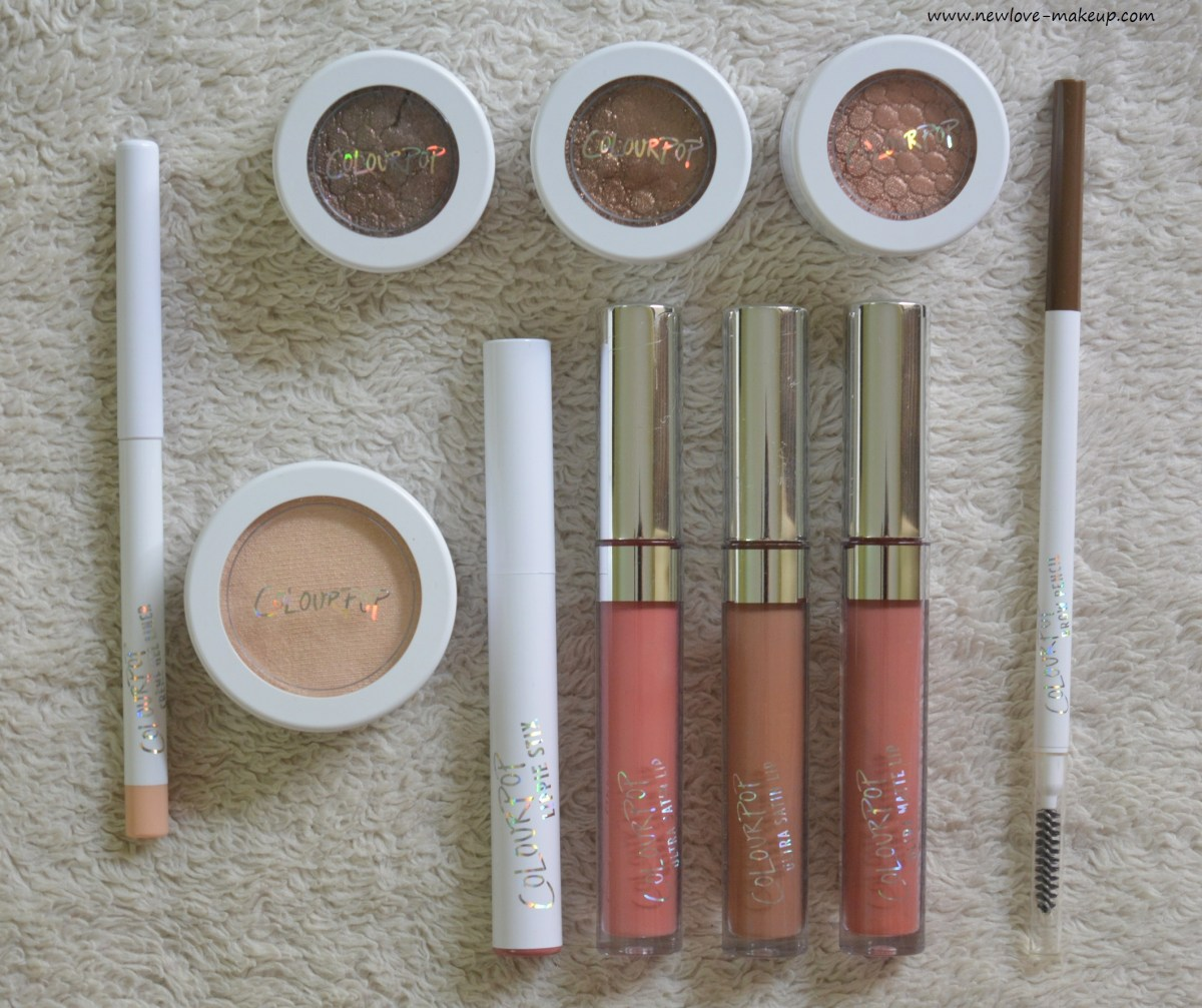 First Colourpop Haul, Review, Swatches | How to Buy in India