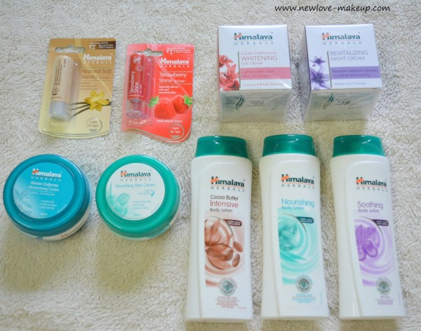 Winter Skincare Routine for Face/Body/Lips feat. Himalaya Herbals