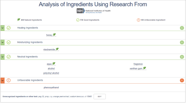 IngredientSpy.com: Check and Analayze the Ingredients before Buying