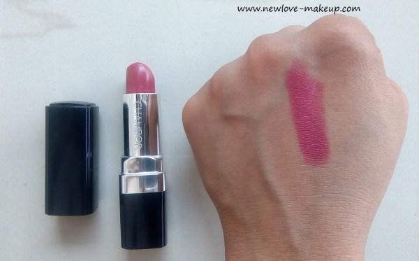 Chambor Powder Matte Lipstick Review, Swatches, Indian Makeup Blog