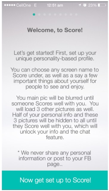 score app dating website But, he insists, anyone with a very low level trust score for a long period would be looked into further yoti may be useful to check out the credentials of someone you're interested in dating the app gives anyone the ability to check the name, photo and age of people they meet online once you've made.