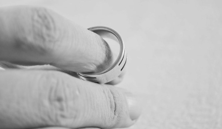 man holding a ring