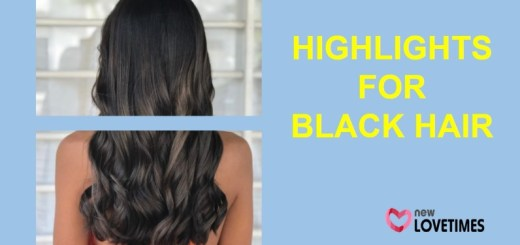 highlights for black hair_New_Love_Times